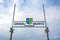 Ostseebad Graal-Mueritz,波罗的海 免版税库存图片