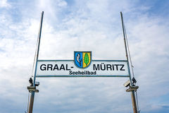 Ostseebad graal-Mueritz, η θάλασσα της Βαλτικής Στοκ εικόνες με δικαίωμα ελεύθερης χρήσης