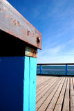 Ostseebrücke Stockbild