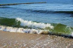 Ostseestrand stockbild