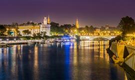Ostseite von Sevilla Lizenzfreies Stockbild