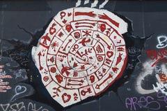 Ostseiten-Galerie, Meteorit-der Liebe Lizenzfreie Stockbilder