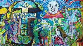Ostseiten-Galerie, O Povo Unido Lizenzfreies Stockfoto