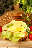 ostsmörgås Arkivfoton