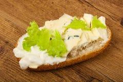 Ostsmörgås Arkivbild