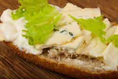 Ostsmörgås Royaltyfri Bild