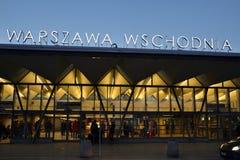 Oststation in Warschau, Polen Stockfoto