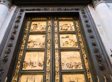 Osttüren von Baptistery in Florenz, Italien Lizenzfreie Stockfotografie