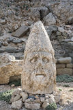 Ostterrasse vom Nemrut, die Türkei Stockfotos