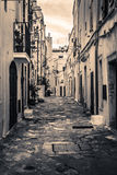Ostuni alley Stock Photography