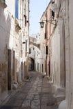 Ostuni (Apulia) - ciudad vieja Foto de archivo libre de regalías