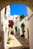 Ostuni, Apulia, Italië Stock Foto