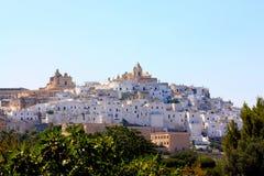 Ostuni, Apulia, Italia Fotos de archivo libres de regalías