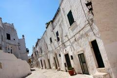 Ostuni, Apulia, Italy royalty free stock image