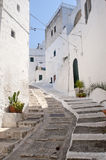 Ostuni (Apulia, Italy) - Old town Stock Photography