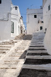Ostuni (Apulia, Italy) - Old town Royalty Free Stock Images