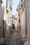 Ostuni (Apulia) - Oude stad royalty-vrije stock foto