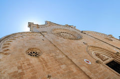 Ostuni Cathedral. In the Old Town (the White City), Puglia, Italy Royalty Free Stock Photo