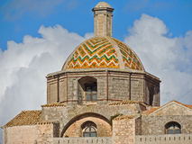 Ostuni cathedral Dome Stock Photos