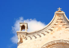 Ostuni cathedral, Italy Royalty Free Stock Photos