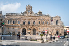 Ostuni City Hall, Puglia, Italy Stock Photos