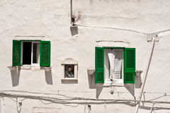 Ostuni-Fenster Stockbild
