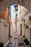 Ostuni, Italy stock images