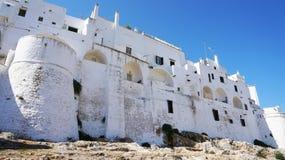 Ostuni la città bianca, Puglia, Italia Fotografia Stock Libera da Diritti
