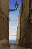 Ostuni: panoramiczny widok Valle d'Itria Fotografia Stock