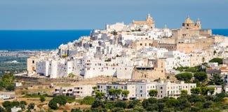 Ostuni, Puglia Imagen de archivo libre de regalías