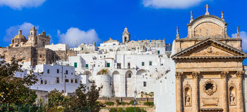 Ostuni - Puglia, Italy royalty free stock photography