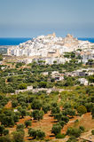 Ostuni, Puglia Royalty Free Stock Photo