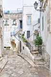Ostuni's old town Stock Photography