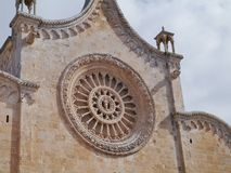 Ostuni in the south of Italy Royalty Free Stock Images