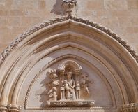 Ostuni in the south of Italy Royalty Free Stock Photography