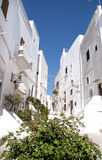 Ostuni street view Royalty Free Stock Photos