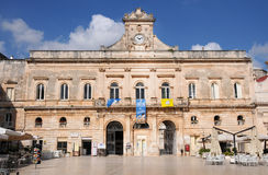 Ostuni town hall Stock Images