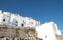 Ostuni view Royalty Free Stock Images