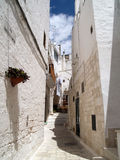 Ostuni village Royalty Free Stock Photo