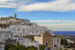 Ostuni, the white city Stock Photography