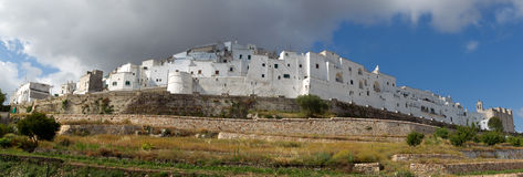 Ostuni - white city in Apulia. Stock Images