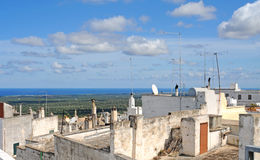 Ostuni, the white city in Italy Stock Photo