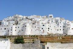 Ostuni the white town of Puglia Royalty Free Stock Image