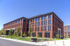 OSU. Corvallis, OR, USA - August, 21, 2016: Austin Hall at Oregon State University was designed to be an all-hours destination for students, providing a 21st Stock Photography