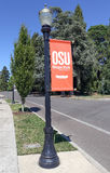 OSU. Corvallis, OR, USA - August 21, 2016: Oregon State University (OSU) is a coeducational, public research university in the northwest United States, located Royalty Free Stock Image