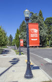 OSU. Corvallis, OR, USA - August 21, 2016: Oregon State University (OSU) is a coeducational, public research university in the northwest United States, located Royalty Free Stock Images