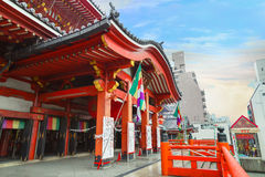 Osu Kannon Temple in Nagoya Royalty Free Stock Photos