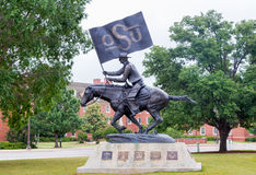 The OSU Spirt Rider at Oklahoma State University Stock Images