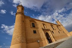 Osuna monumental village in Sevilla province, Spain. Osuna is a historic village in Sevilla province, Andalusia, Spain Royalty Free Stock Photos