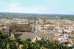 Osuna rooftops, Andalusia, Spain Royalty Free Stock Photo